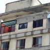Recuo de fachada de penthouse no 16º andar em 50cm