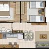 Orçamento para móveis projetados e funcionais para apartamento pequeno