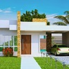 Construir casa pré-fabricada em terreno de 16 m por 25 m