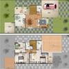 Construção de sobrado em condominio na praia da pipa, 3 quartos sendo uma suite, 1 banheiro social e 1 lavabo