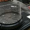Confecção de cesta para carvão ( churrasqueira )